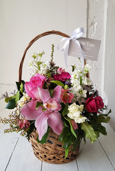 Basket Flower Arrangement