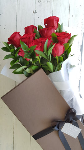 Valentine's Day Boxed Roses