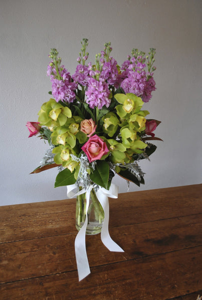 Bouquet in Vase