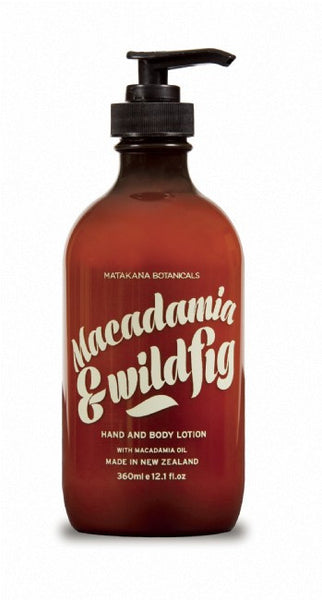 Matakana Botanicals Hand and Body Lotion - Macadamia & Fig