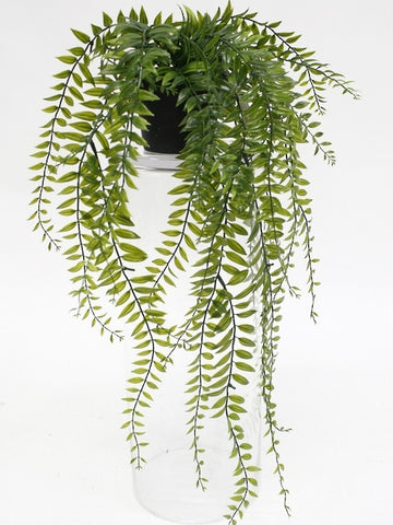 Faux Potted Sword Fern