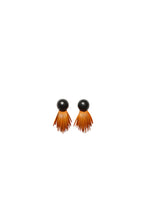Load image into Gallery viewer, EARRINGS IN ORANGE ACACIA