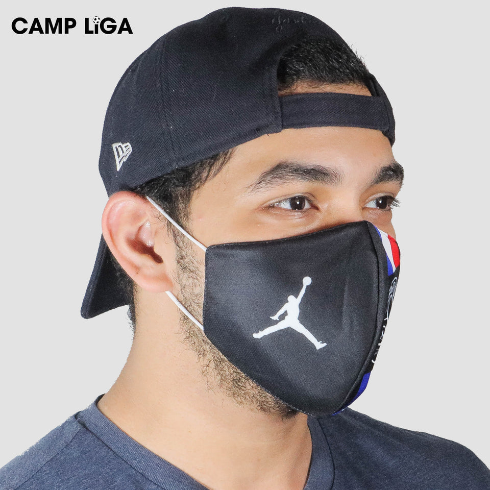 Paris Saint Germain Black Reusable Face Mask Camp Liga