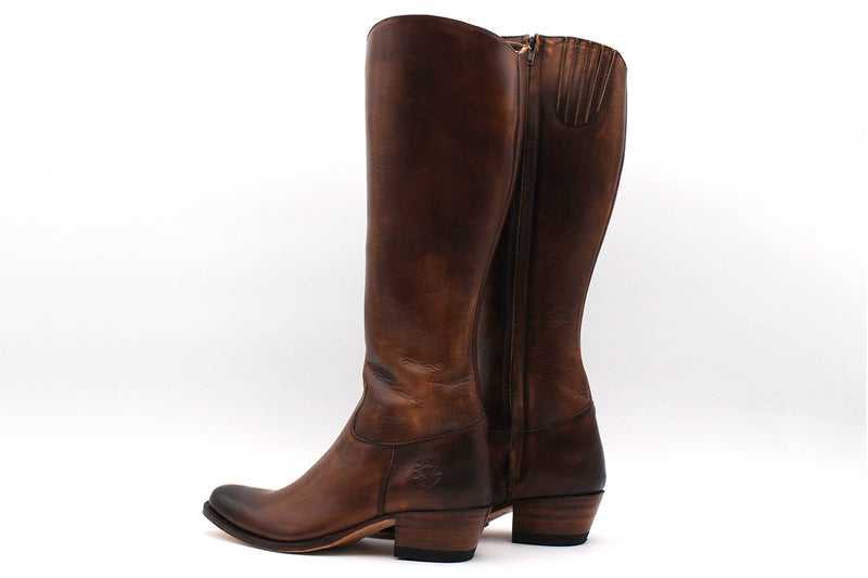 Bottes Eygalieres - Cuir lisse (Femme)