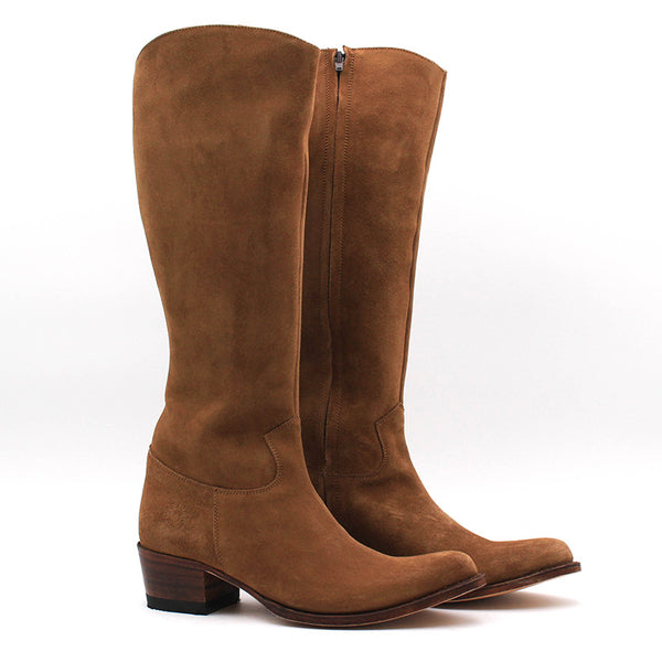 Eygalieres Boots - Suede Leather (Woman)