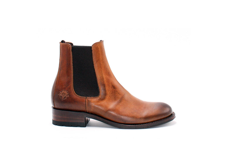 Arles Chelsea Boots - Greasy Leather (Woman)