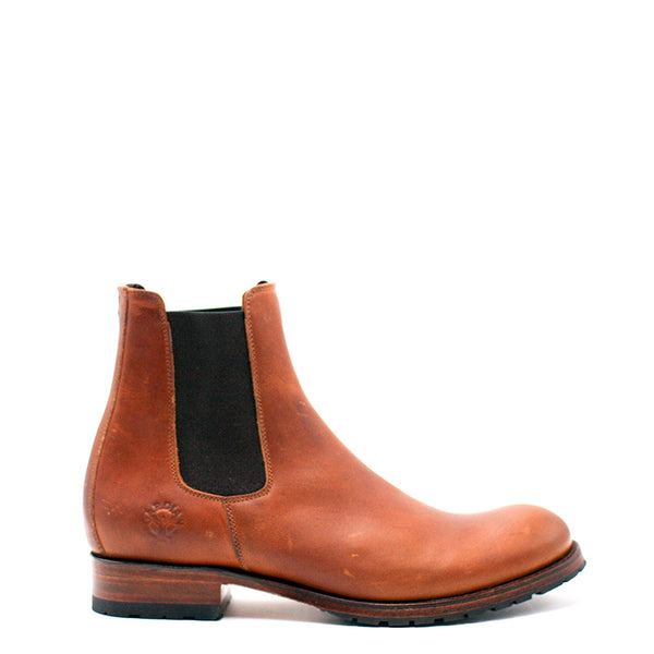 Vaccarès Chelsea Boots - Greasy Leather (Man)