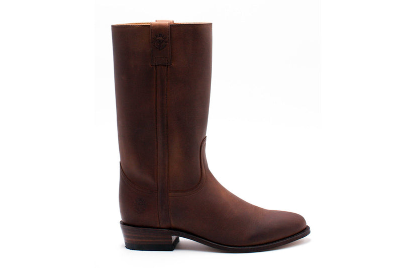 Nîmes Boots - Greasy Leather (Woman)