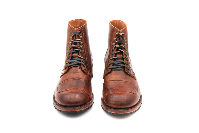 Barbentane Boots - Greasy leather (Man)