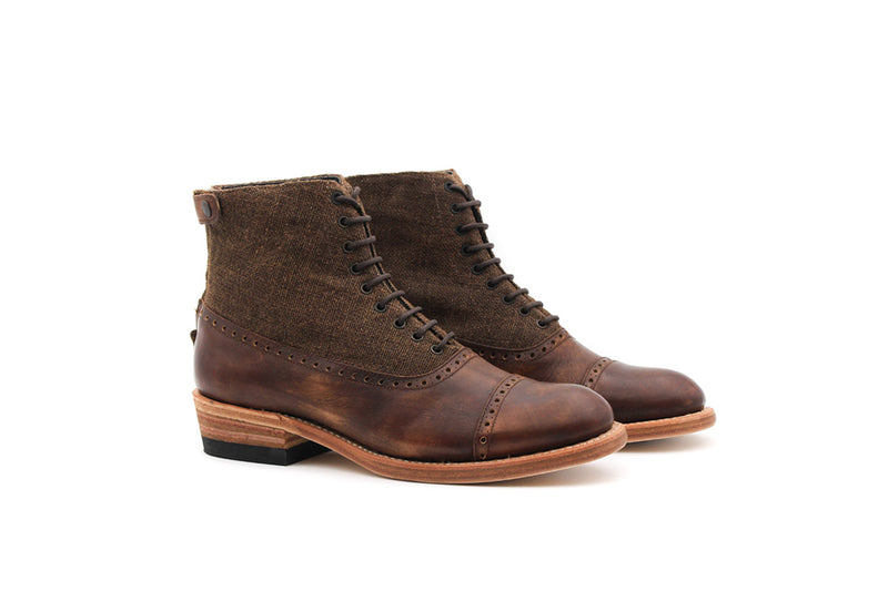 Bottines Folco - Cuir lisse (Homme)