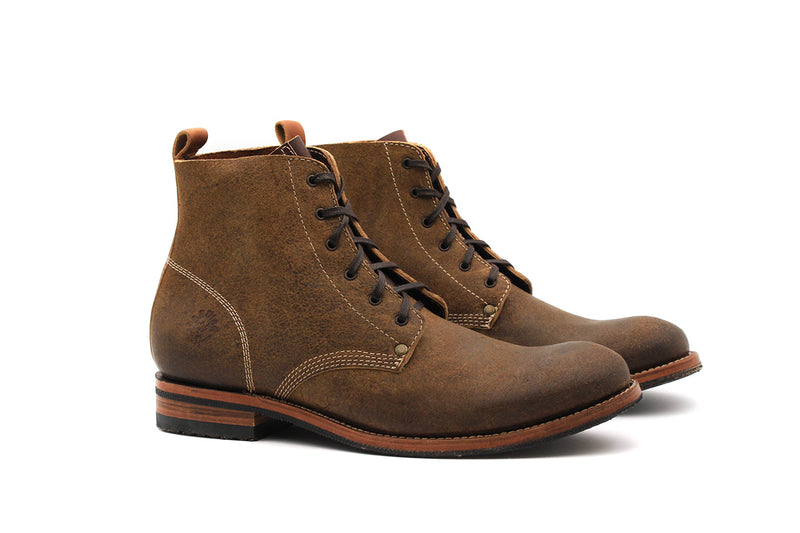 Sambuc Boots - Greasy leather (Man)
