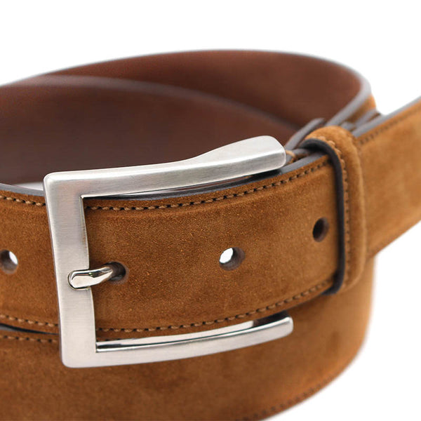 Cuba Belt - Suede Leather