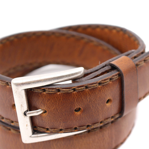 Odessa Belt - Greasy Leather