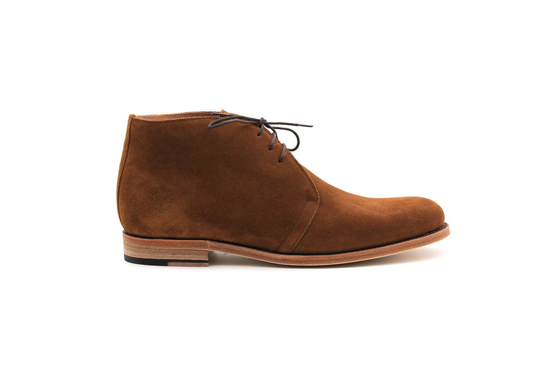Maillane Chukka Boots - Suede Leather (Man)