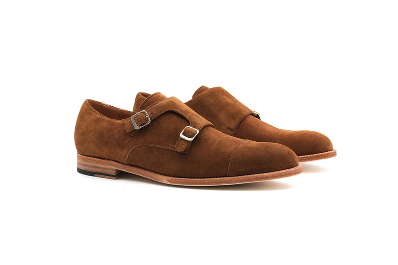 Lambesc Derbies Monk Strap - Suede Leather (Man)