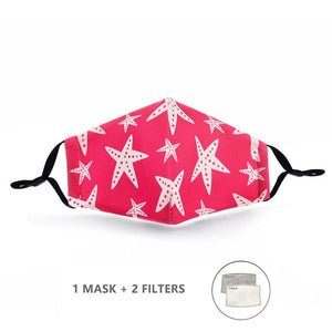FaceShield® Kids - Pink Starfish-Masks New Zealand | Free Shipping | Masks.co.nz