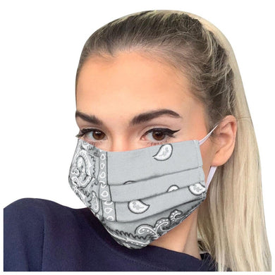 FaceShield® Bandana - Grey-Masks New Zealand | Free Shipping | Masks.co.nz