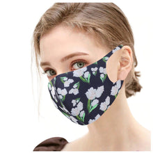 Load image into Gallery viewer, FaceShield® Washable - Dark Floral-Masks New Zealand | Free Shipping | Masks.co.nz