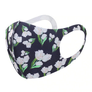 FaceShield® Washable - Dark Floral-Masks New Zealand | Free Shipping | Masks.co.nz