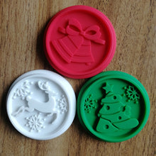 Load image into Gallery viewer, Christmas Silicone Cookie Stamp