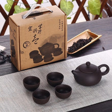 Load image into Gallery viewer, Ceramic Chinese Kung Fu Teapot Set