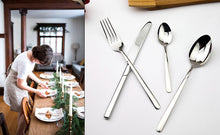 Load image into Gallery viewer, Stainless Steel Cozy Cutlery 24pcs/set