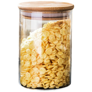 Sealed Glass Storage Jar