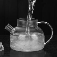 Load image into Gallery viewer, 7pcs Heat Resistant Glass Teapot Set