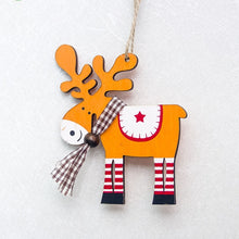 Load image into Gallery viewer, Christmas Wooden Hanging Pendants
