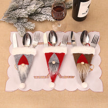 Load image into Gallery viewer, Christmas Cutlery Holder