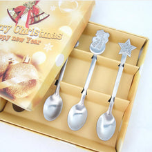 Load image into Gallery viewer, 4 Pieces Of Christmas Style Teaspoon