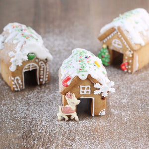 3Pcs Christmas Gingerbread House Cookie Cutter Set