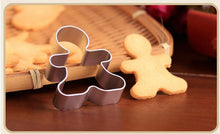 Load image into Gallery viewer, Christmas Cookie Cutter Gingerbread Men
