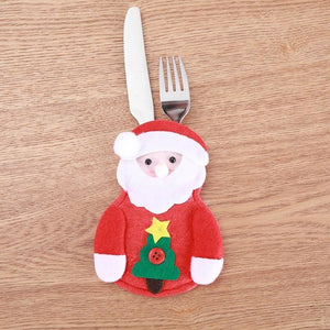 Christmas Cutlery Holder