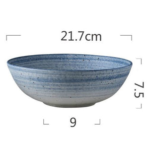 Nordic Style Ceramic Pottery Tableware
