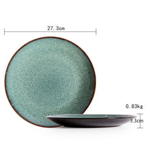Load image into Gallery viewer, Malachite Green Ceramic Tableware