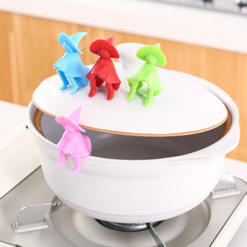 Anti-overflow Pot Rack Silicone