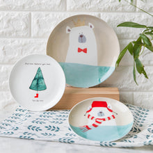 Load image into Gallery viewer, Cute ceramic dinner plates