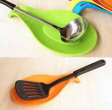 Load image into Gallery viewer, Silicone Utensils Holder Tray