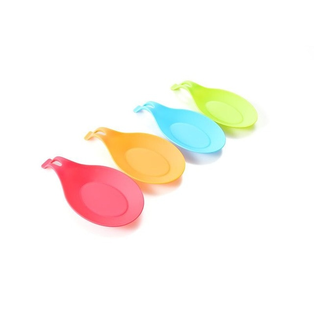 Silicone Utensils Holder Tray