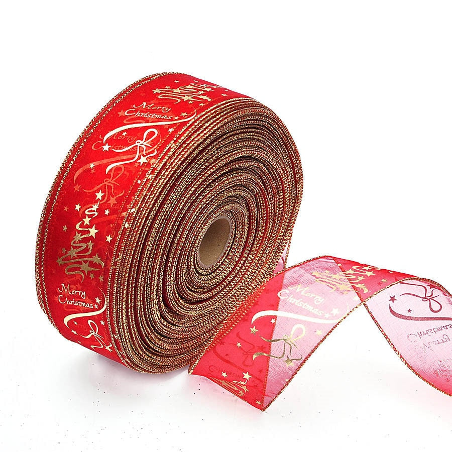 200cm Christmas Decorations Ribbons