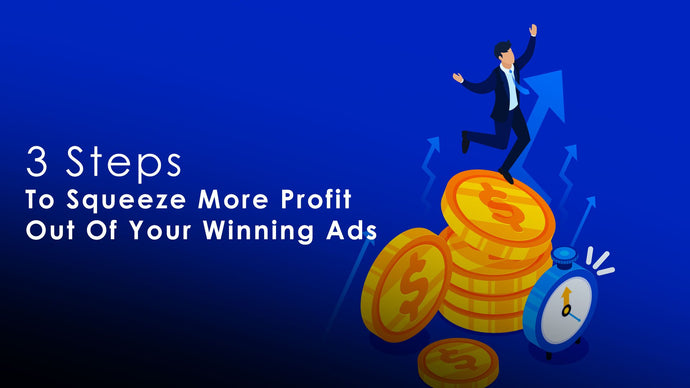 3 Steps To Squeeze More Profit Out Of Your Winning Ads