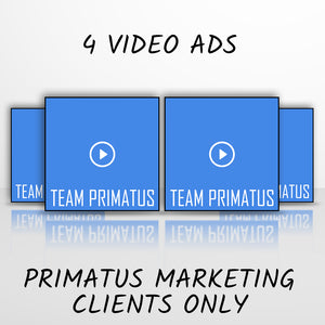 4 Video Ads (Agency Clients ONLY)