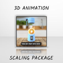 "Load image into Gallery viewer, 3D Animation ""Scaling Package"" OUT NOW"