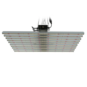 ECO Farm 900W LED 12 Barras Samsung 561C/301B+660nm+IR+UV Chips Luz de Cultivo