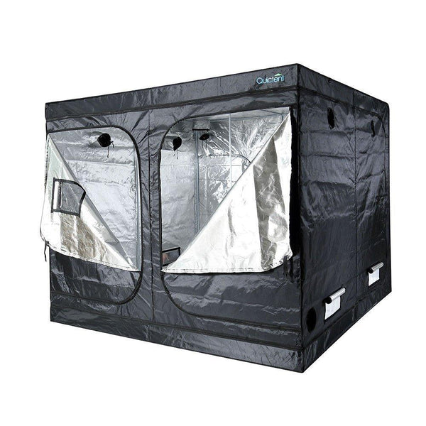 Quictent 8ft x 8ft x 6ft6inch Mylar Hydroponic Grow Tent