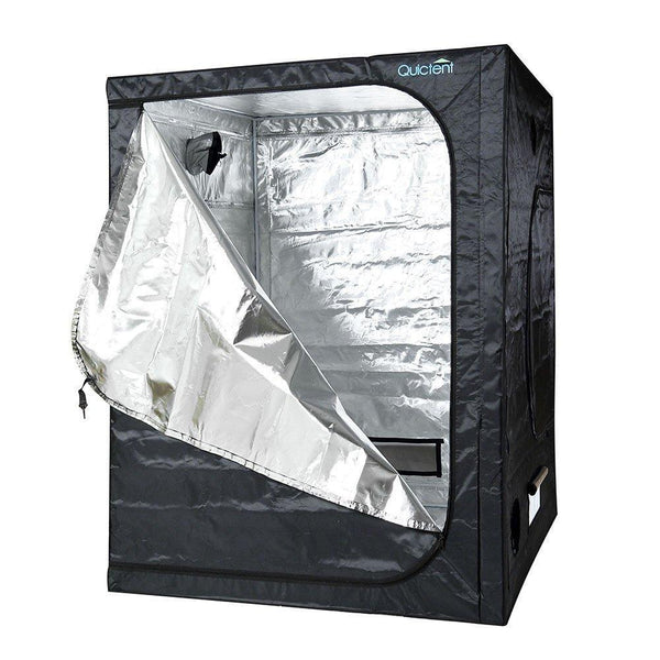 Quictent 5ft x 5ft x 6ft6inch Mylar Hydroponic Grow Tent For Plants Indoors