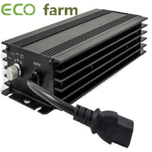 ECO Farm kit de 600W Potente Balastro Digital Regulable+ Reflector+Bombilla para Hidroponía