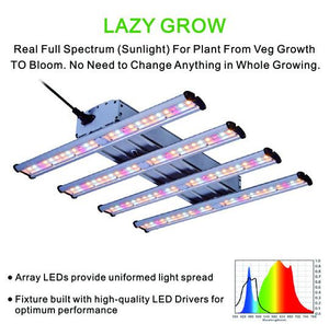 ECO Farm Barra de Luz de Cultivo LED 250/320W