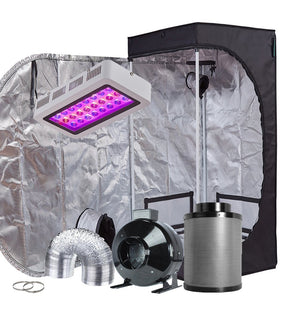 TopoGrow 24X24X48 LED Grow Tent Kits
